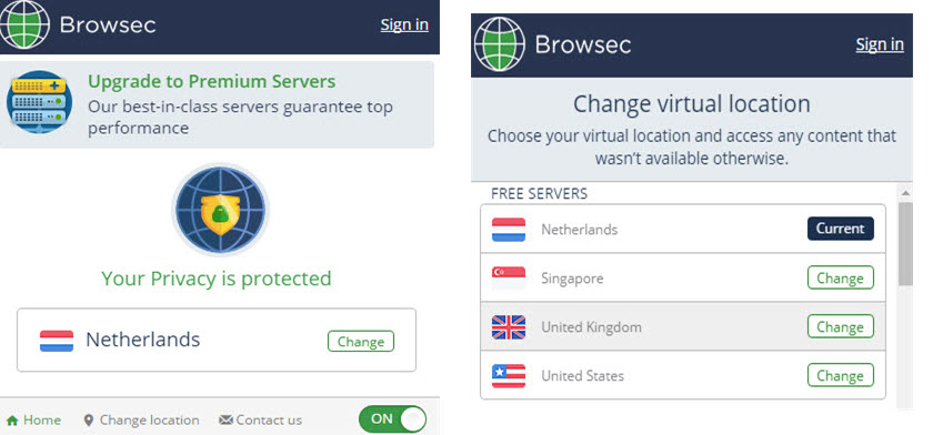 Browsec in firefox stjohnsbh org uk