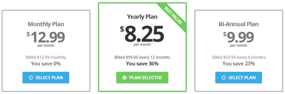 BufferedVPN-Prices