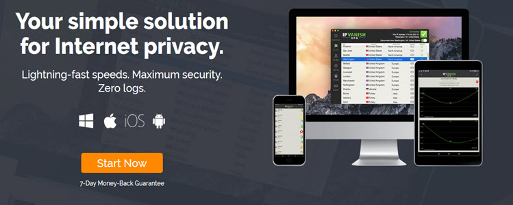 Support Ip Vanish  VPN