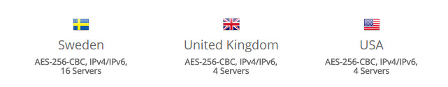 azirevpn-serverlocations