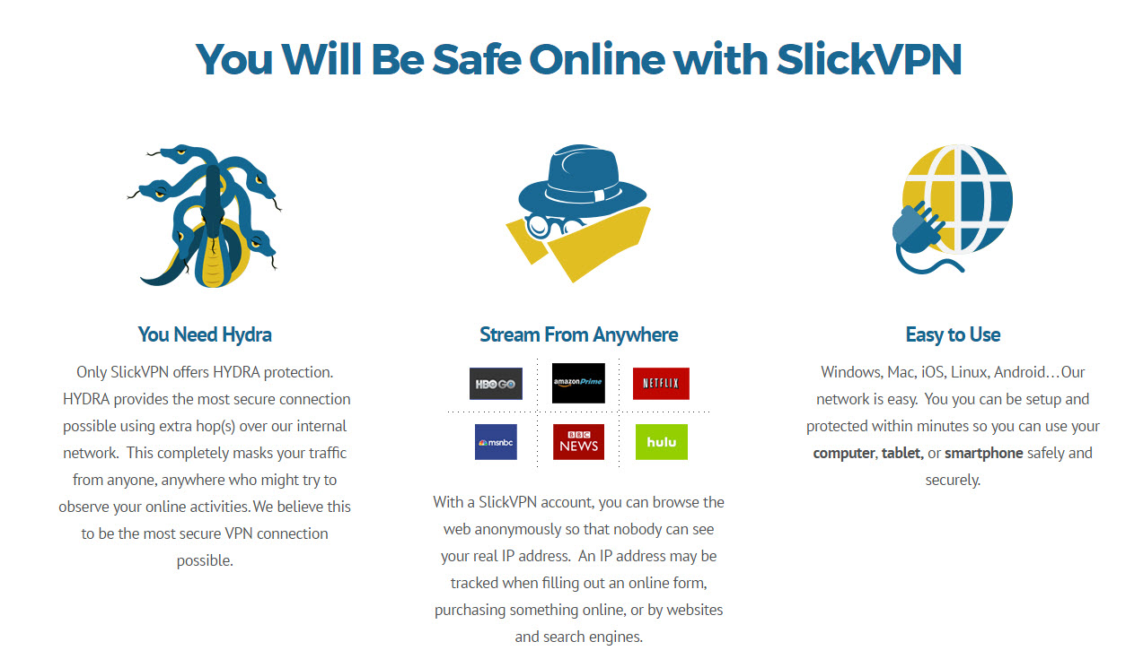 slickvpn-features